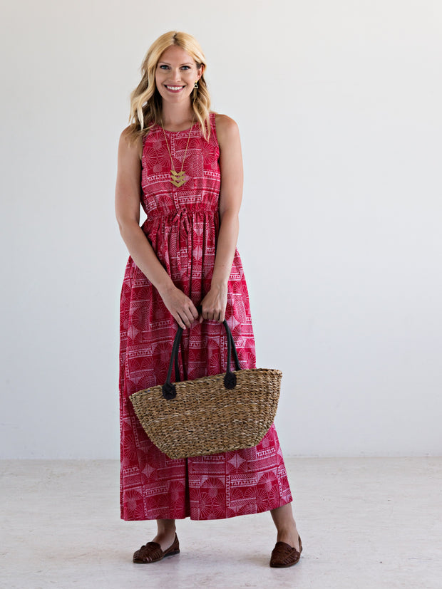 Varenna Maxi Dress Red