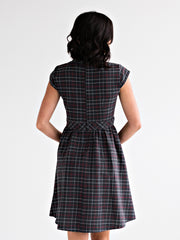 Vermont Dress Dark Grey