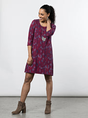 Vesper Dress Fuchsia