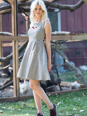 Vignette Dress Gingham