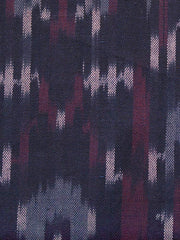 Vintage Pleat Dress Plum Ikat