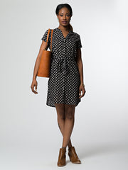 Whidby Shirtdress Black Floral
