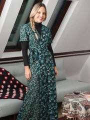 Wrap Maxi Dress Jade