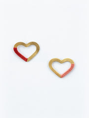 Threaded Heart Studs