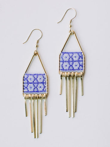 Allegory Earrings Blue