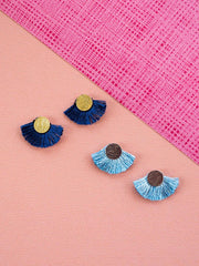 Carousel Earrings Pale Blue