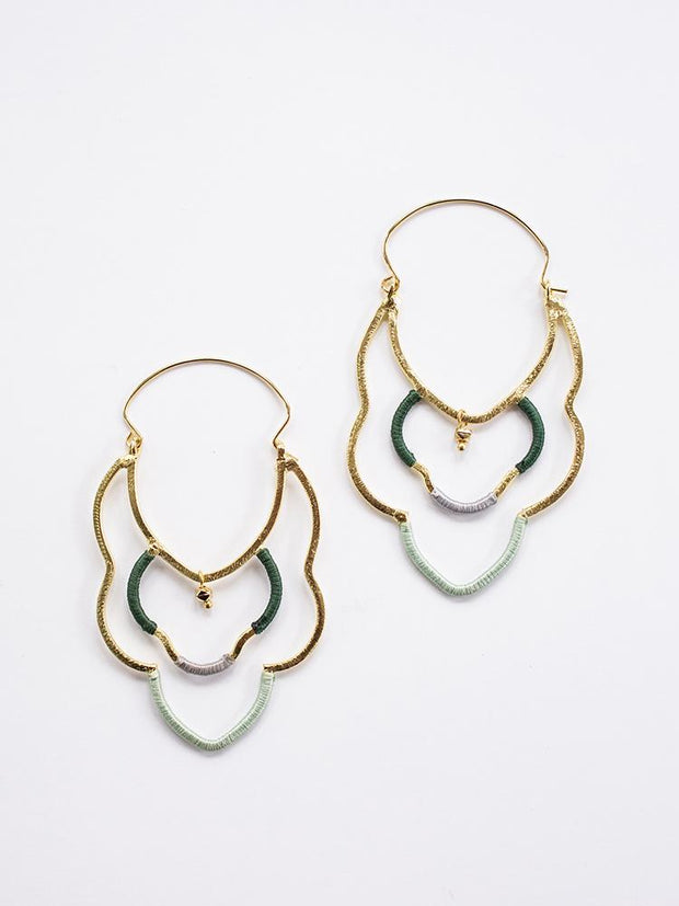 Casablanca Earrings Gold