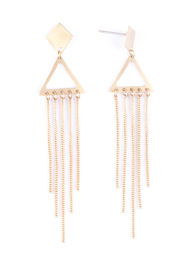 Chime In Earrings Gold