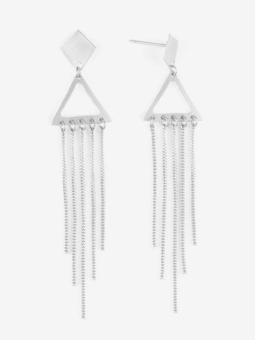 Chime In Earrings Silver