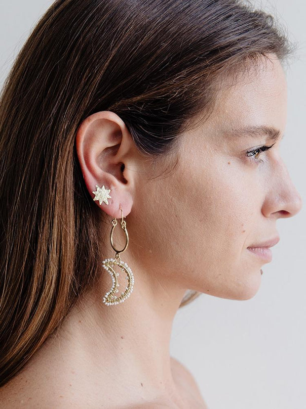 Clarabella Earrings Gold