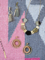 Deccan Drop Earrings Mixed