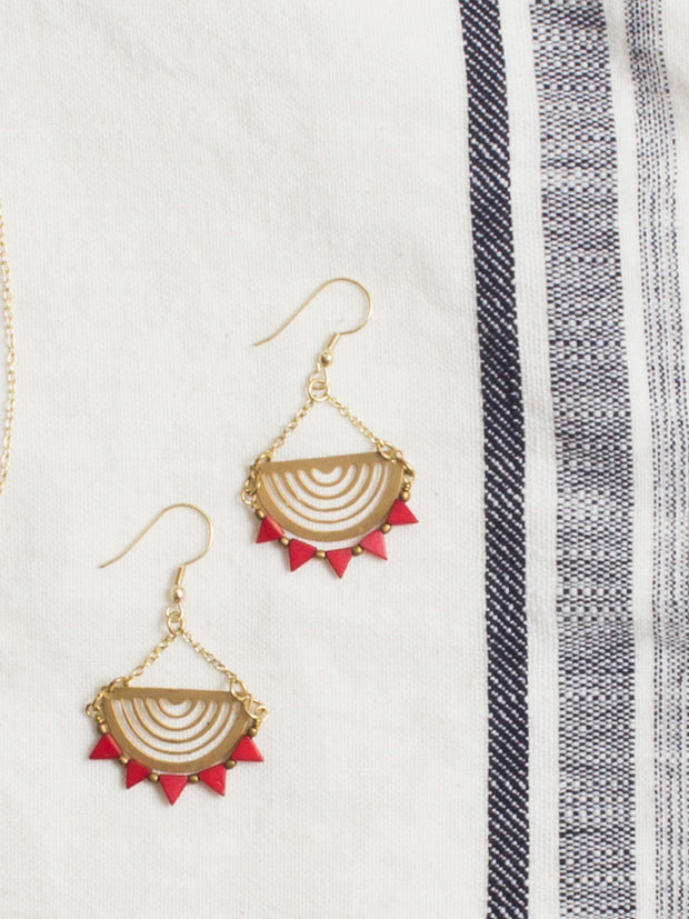 Desert Sun Earrings Gold