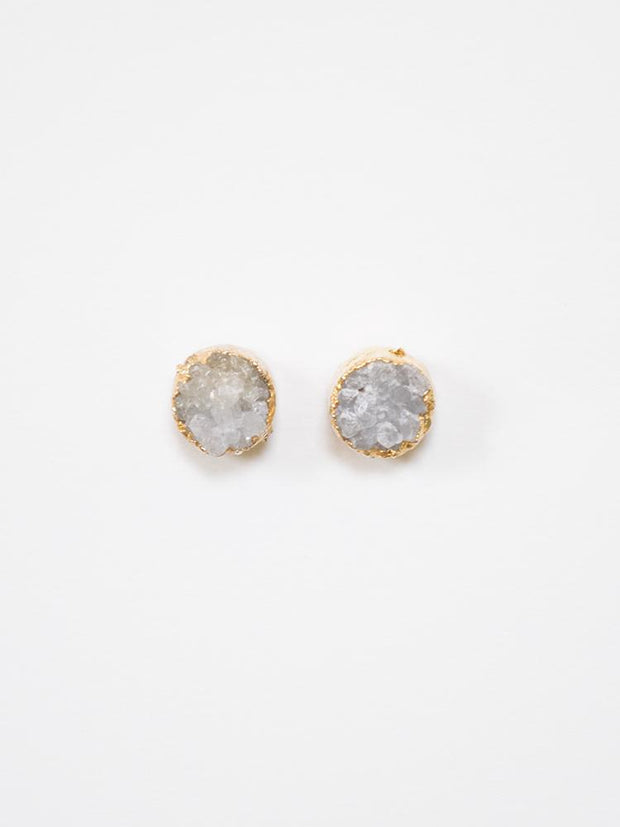 Florence Studs Gold