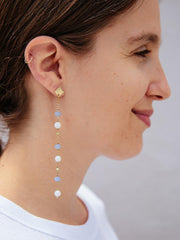 Gracie Beaded Earrings Gold