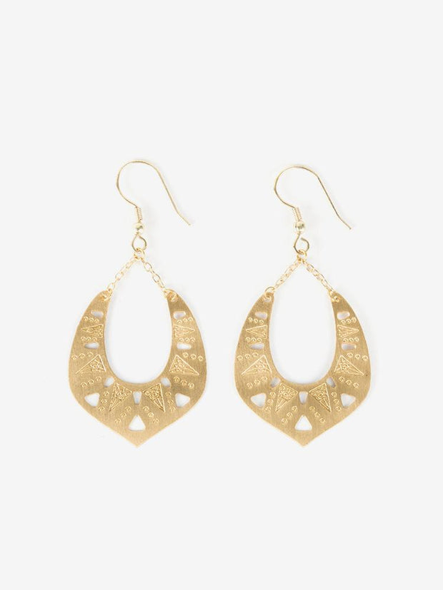 Granada Earrings Gold