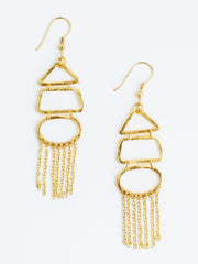 Highgarden Earrings Gold