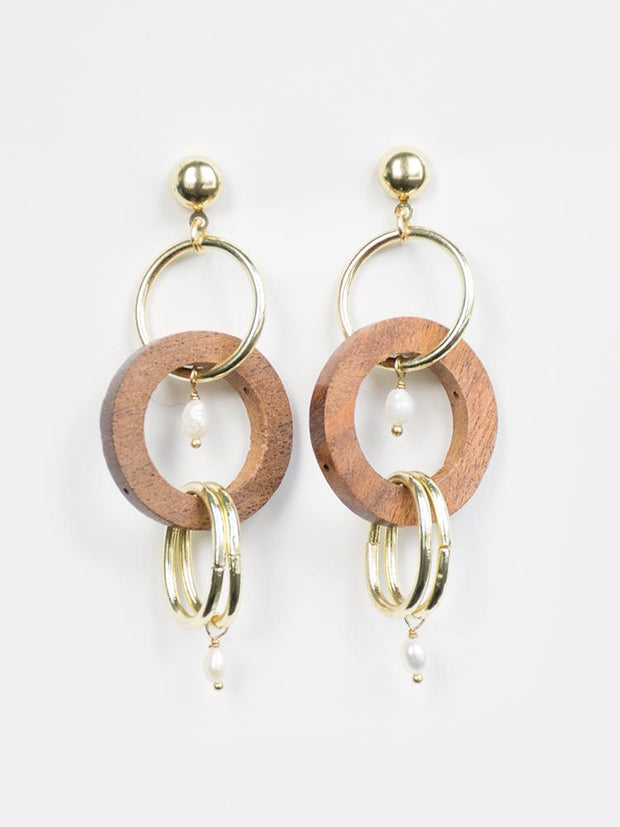 Indali Earrings Gold