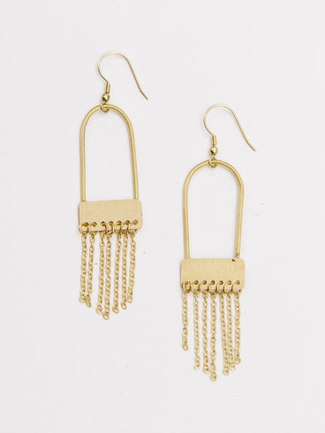 Kalida Earrings Gold