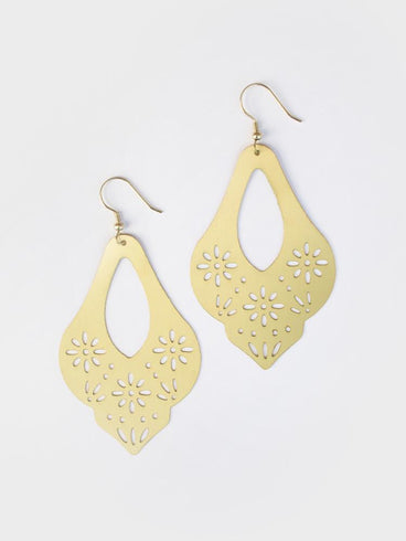 Marguerite Earrings Gold