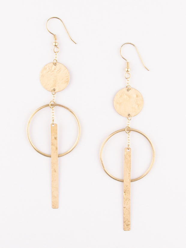 Olinda Earrings Gold
