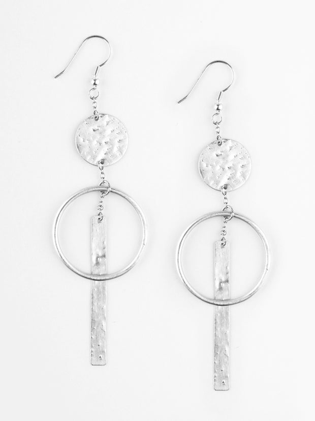 Olinda Earrings Silver