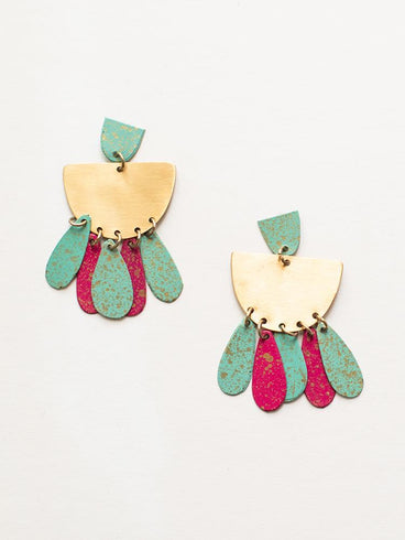 Patina Drop Earrings