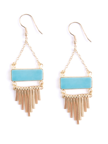 Riviera Earrings Turquoise