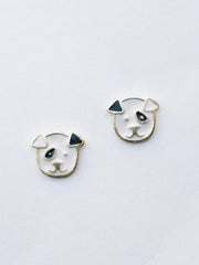Sit Stay Stud Earrings