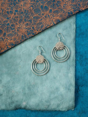 Splendid Sun Earrings Silver