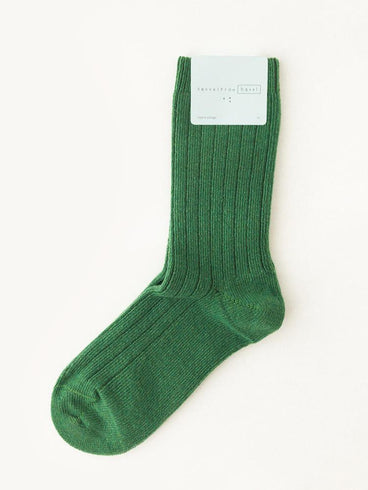 Hansel From Basel Cashmere Sock Green
