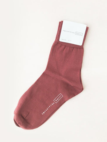 Hansel From Basel Trouser Crew Socks Rosebud