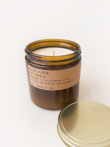 P.F. Candle Co. Piñon Soy Candle