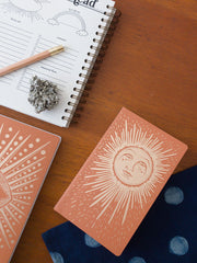 The Rainbow Vision Sun Lined Notebook