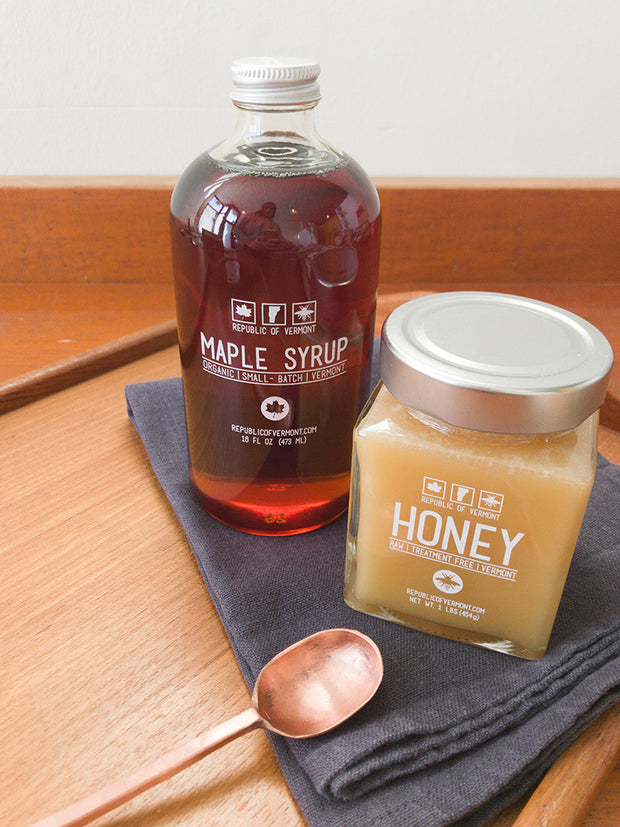 Republic of Vermont Raw Honey