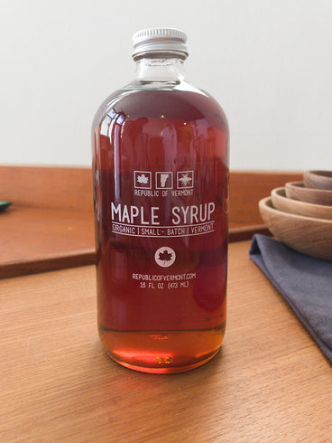 Republic of Vermont Organic Maple Syrup