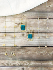 Simple Shapes Necklace Gold