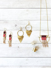Stacked Sunra Earrings Gold