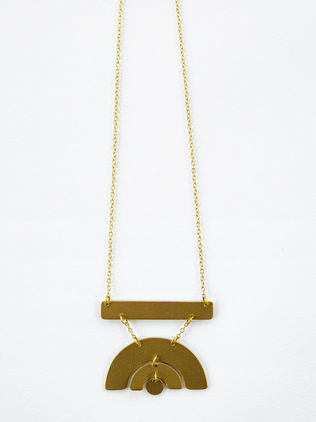 Sunray Necklace Gold