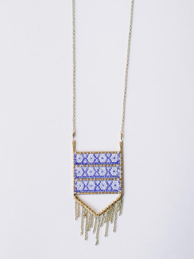 Allegory Necklace Blue