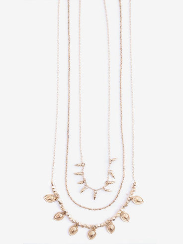 Althea Necklace Gold