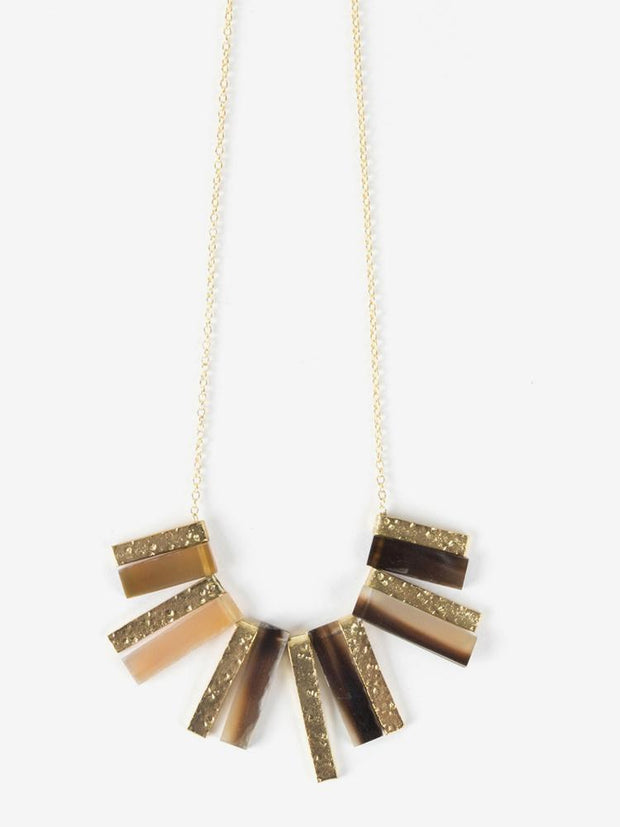 Basilico Necklace Gold