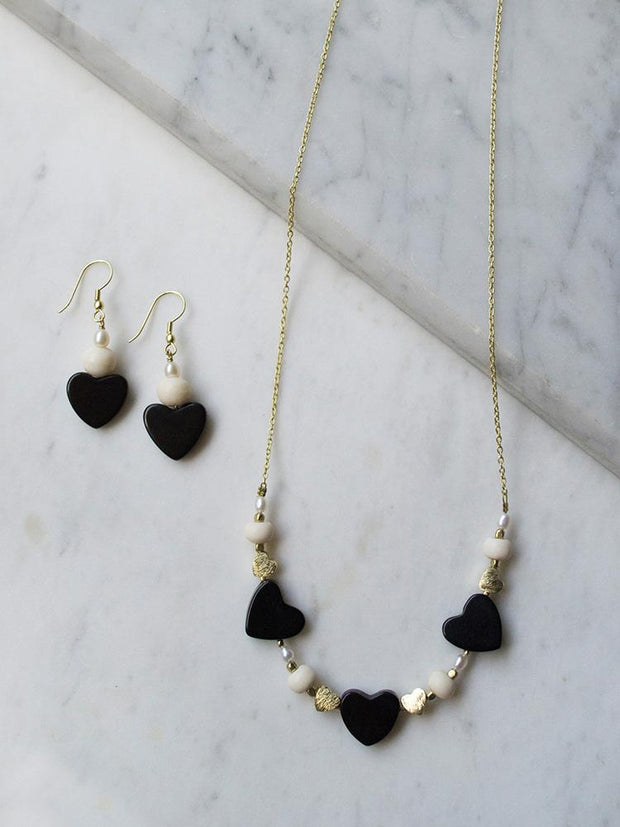 Carnaby Necklace Black