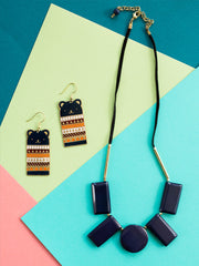 Edie Necklace Navy