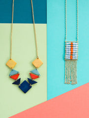 Florentina Necklace Orange