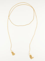 Gia Rope Necklace Gold