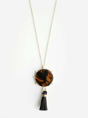 Gleam Necklace Tortoiseshell