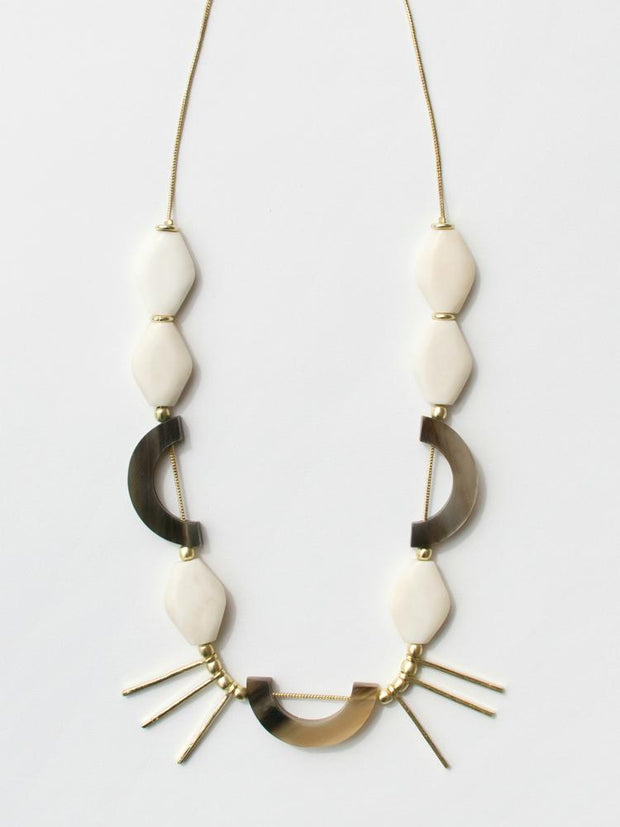 Henri Necklace Horn