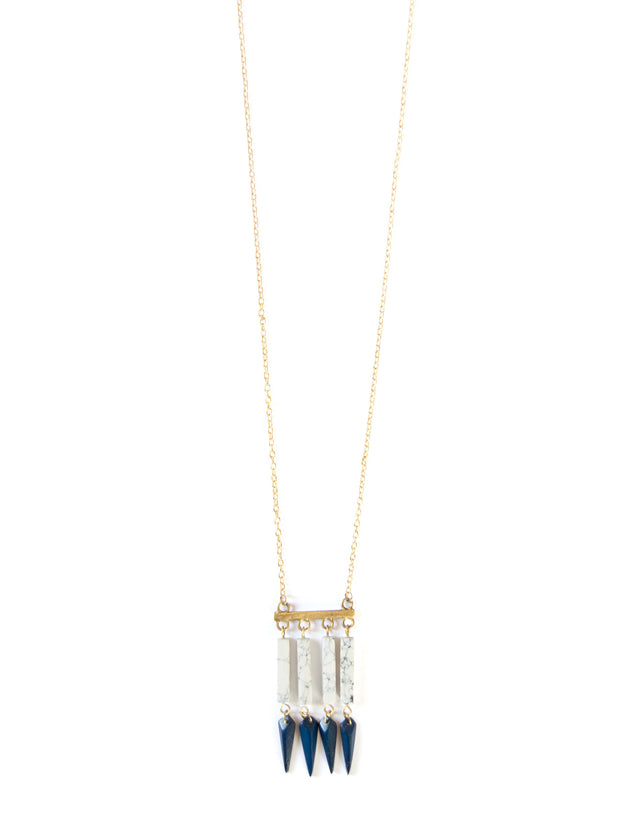 Huntress Necklace Navy