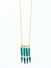 Huntress Necklace Turquoise
