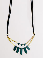 Ishaana Necklace Green